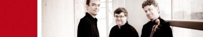 TRIO WANDERER : Vincent Coq, piano - Raphaël Pidoux, violoncelle - Jean-Marc Phillips-Varjabédian, violon