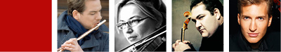 EMMANUEL PAHUD flûte, MAJA AVRAMOVIC violon, JOAQUIN RIQUELME GARCIA alto, STEPHAN KONCZ violoncelle