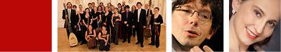 COLLEGIUM 1704 (PRAGUE), VÁCLAV LUKS direction et clavecin, MARIE-CLAUDE CHAPPUIS mezzo-soprano