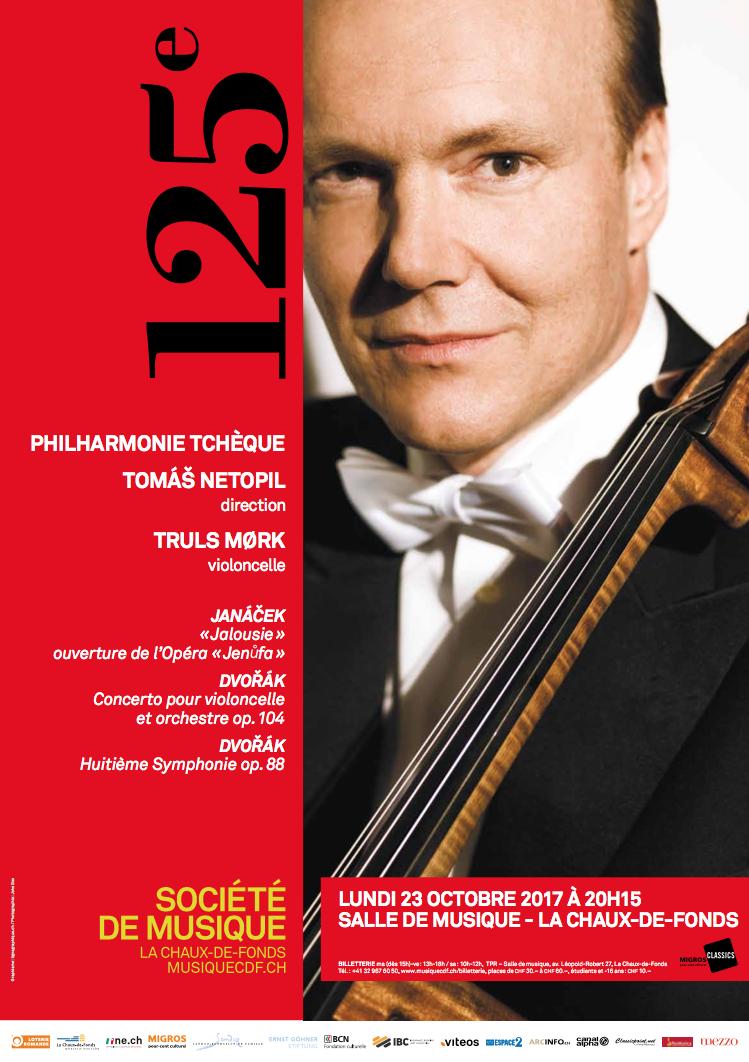 Vom 23. Oktober 2017 bis zum 4. Mai 2018 feiert die Société de Musique de La Chaux-de-Fonds ihr 125-jähriges Jubiläum. 125 Jahre Aussergewöhnliches auf musikalischer und menschlicher Ebene – eine Glanzleistung!