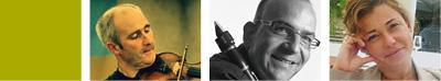 LAURENT DE CEUNINCK violon, JEAN-FRANCOIS LEHMANN clarinette, VALERIE BRANDT piano